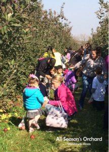 All Season's Orchard Apple Picking Field Trip | upickfarmlocator.com